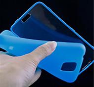 Para Funda Samsung Galaxy Flip / Transparente Funda Cuerpo Entero Funda Un Color TPU Samsung S5