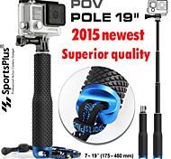 nuovo polo estensibile monopiede per telecamere GoPro HD HERO 2 3 3 + 4 sj4000