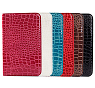 Crocodile Grain Design PU Leather Sheath for Samsung GALAXY Tab Pro T320 8.4(Assorted Color)