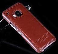 la nueva simplicidad de lujo se pega caja del teléfono celular para HTC M8 / M9 (colores surtidos)
