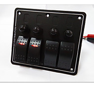 Hot! 4 Way Rocker Switch panel High Quality
