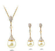 HUALUO®Natural Freshwater Pearl Earrings Pendant Earrings Piece Fitted