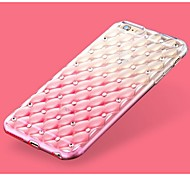High Quality Star Diamond Pattern Back Cover for iPhone 6S/6 (Assorted Colors)