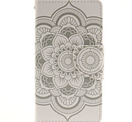 Paper Cutting Big Flower Design Cell Phone Case Cover For WIKO Sunset 2