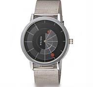Masculino Relógio de Moda Quartz Banda Prata marca-