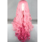 Lolita Wigs Sweet Lolita Lolita Extra Long Pink Lolita Wig 100 CM Cosplay Wigs Solid Wig For Women