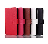 Lychee Leather Design PU Leather Sheath Case for Galaxy Note2/Note3/Note3lite/note4/note5/Note Edge(Assorted Color)