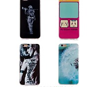 Fashion and Personality Design TPU Soft Case for iPhone 6/6s