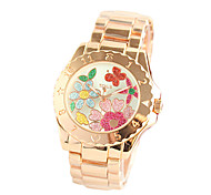 relógio feminino série decorada relógio de quartzo linda mesa de moda feminina e animada