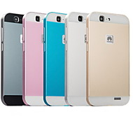 Metal Frame Acrylic Mirror Backplane Metal Hard Case for Huawei Ascend G7 (Assorted Colors)