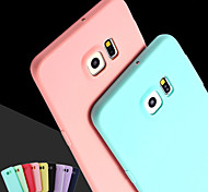 Pink Girl Solid Colour Elegant Simple Soft Case for Samsung Galaxy S3/S4/S5/S6/S6 Edge/S6 Edge Plus (Assorted Colors)