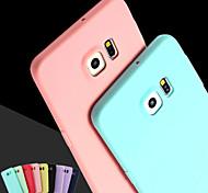 pink girl einfarbig elegant einfache weiche Tasche für Samsung-Galaxie S3 / S4 / S5 / S6 / S6 Kante / S6 Kante plus (verschiedene Farben)