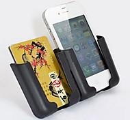 ziqiao universal, teléfono móvil deslizante soporte soporte de coche ajustable sostenedor del montaje marco de navegación de los gps del