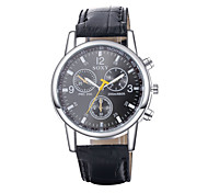 Authentic moment Leather watch Waterproof Skeleton Watch men watch quartz watch 2 Dial Color WH0020A/W Wrist Watch Cool Watch Unique Watch