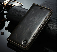 A Leather Wallet Mobile Phone Holster For Iphone6/6s