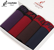 L'ALPINA® Men's Cotton Boxer Briefs 4/box - 21130