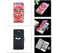 An Eye for an Eye Pattern PU Leather Full Body Case for iPhone 4/4S