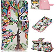 Fashion Pattern PU Leather Case with Stand and Card Holder for Nokia Lumia 650(Assorted Colors)