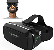VR BOX Shinecon Virtual Reality 3D Glasses Cardboard 2.0 VR Headset (Black Color)