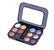12 Lidschattenpalette Matt / Mineral Lidschatten-Palette Puder Normal Alltag Make-up / Halloween Make-up / Party Make-up