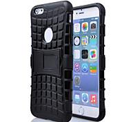 Gummi Stent TPU und PC-Soft-Cover für die iphone 6plus / 6s Plus