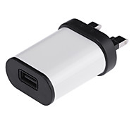 Universal 5V 2A USB Power Adapter for IPHONE / IPAD / Samsung Galaxy S6 / Cell Phone (AC100~240V/UK Plug)