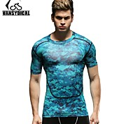 Vansydical Men's Quick Dry Fitness Tops - JSY-2015002