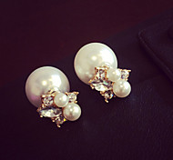 New Arrival Fashional Crystal Pearl Earrings