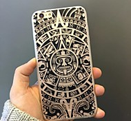 Black Totem Pattern Acrylic Back Cover Case  for iPhone6/6S Plus