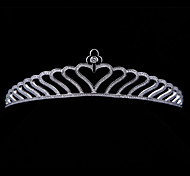 Sweet Heart AAA CZ Tiara Bridal Wedding  Hair Jewelry Accessories Princess Crowns