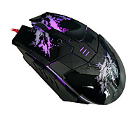Beitas USB Wired Mouse 800/1600/2400DPI 5 Buttons Optical Gaming Game Mouse 7 Colors LED for PC Laptop Computer