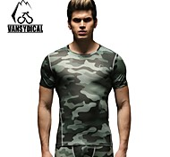 Vansydical Men's Quick Dry Fitness Tops - JSY-2015024
