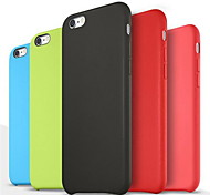 Smooth Silicone Soft Case  for iPhone 6/6S (Assorted Colors)
