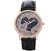 Xu™ Fashion Heart-shaped  Quartz Watch