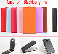 Flip Leather Magnetic Protective Case For Blackberry Priv(Assorted Colors)