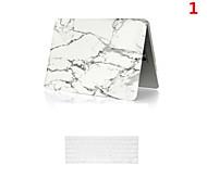alto padrão de venda de mármore pvc caso de corpo inteiro com tampa do teclado para MacBook Air de 13,3 polegadas
