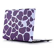 Purple Stone Style PC Materials Water Stick Flat Shell For MacBook