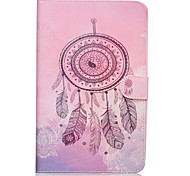 Dreamcatcher Pattern PU Leather Full Body Case TPU With Stand for Samsung GALAXY Tab E SM-T560 SM-T561