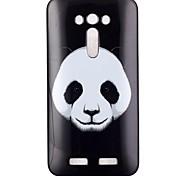 cassa del telefono TPU modello del panda per zenfone ze550kl 2 laser