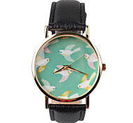 Black Belt Swallow Pattern Of Female Fashion Watches