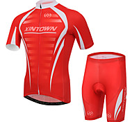 XINTOWN Breathable Quick Dry Cycling Bike Bicycle Sports Clothing Short Sleeve Jersey Pants Wear Suit S-XXXL
