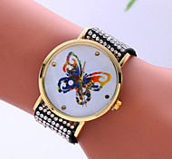 2016 Korean Version Of The Butterfly Pattern Ms. Bracelet Watch