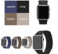 Loop Watch band For Apple Watch Band Original Genuine Leather Loop Apple Watch Starp With Adjustable Magnetic Closure