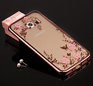 Secret Garden Phone Cases/Covers Plating Diamond TPU For Galaxy S6 andGalaxy S6 edge Plus