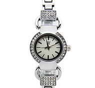 Set Auger Elegant Lady Show Thin Quartz Waterproof Alloy Watch Business And Leisure Travelers Cool Watches Unique Watches