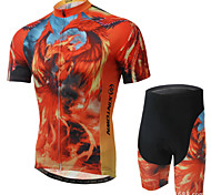 XINTOWN Ultraviolet Resistant Cycling Bike Short Sleeve Sports Clothing Bicycle Suit Jersey+Shorts