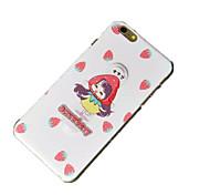 shell pc con il supporto sollievo ragazza per iPhone6 / 6S
