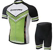 XINTOWN Ultraviolet Resistant SportWear Cycling Bike Short Sleeve Clothing Bicycle Jersey Shorts Suit