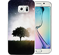's Avonds bomenpatroon pc Cover Case voor de Samsung Galaxy s6 rand