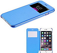 Smart View Screen Touch PU Leather Case for iPhone5C